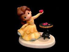 "Precious Moments Disney Princess Belle with Rose Statue! ""Love in Bloom"" New!"