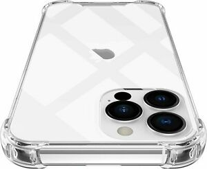 Für iPhone 13 Pro Max 12 11 Xs XR 7 8 Hülle Schutzhülle Durchsichtig Bumper Case
