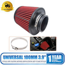 """UNIVERSAL 3.9"""" 100mm NECK FOAM CONE INDUCTION INTAKE KIT AIR FILTER"""