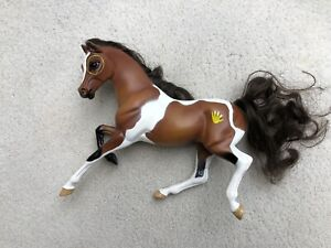 Retired Breyer Horse #7032 Native American Pinto Dapples Ponies Hair Mane Tail