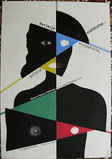 Polish poster by Wieslaw Rosocha