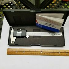 Digital Electronic Gauge Stainless Steel Caliper Micrometer excellent condition.