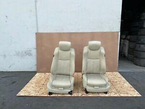 INFINITI FX35 FX37 FX50 QX70 2009-2017 OEM FRONT LEFT RIGHT SEATS SEAT (SET/TAN)