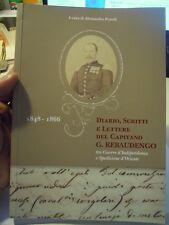DIARIO, SCRITTI E LETTERE DEL CAPITANO G. REBAUDENGO 1848-1866 GUERRE INDIP L-10
