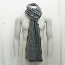 NEW Closed Grey Knitted Scarf GENUINE RRP: £100 BNWT