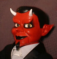 "Haunted Ventriloquist Doll ""EYES FOLLOW YOU"" Devil Puppet Dummy Oddity Prop"