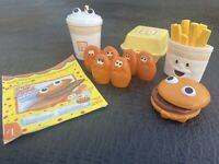 Vintage 1988 Fisher Price - Fun With Food - McDonalds Happy Meal