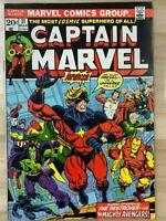 CAPTAIN MARVEL #31 (1974) Marvel Comics VG+
