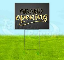 Grand Opening Yard Sign Corrugated Plastic Bandit Lawn Decoration Usa