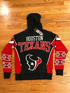 HOUSTON TEXANS NFL Sweater Ugly Christmas Hoodie, YOUTH XL, Extra Large 18 - NWT
