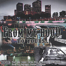 `Mr Chino, Stroler,Elusive,...-From My Hood To Yours  CD NEW