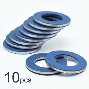 10PCS For Toyota Lexus Scion Oil Drain Plug Washer Gaskets Car OE#90430-12031