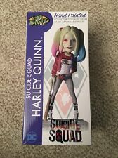 "HARLEY QUINN Suicide Squad DC WB 8"" Head Knockers Resin Bobble Head (NECA 2016)"