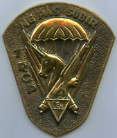 France  French Paratrooper Regiment 1 RCP Ne Pas Subir Bronze Medal !!!