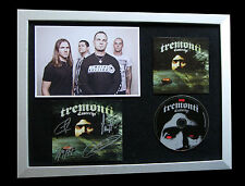TREMONTI+SIGNED+FRAMED+CAUTERIZE+CREED+BRIDGE=100% AUTHENTIC+EXPRESS GLOBAL SHIP