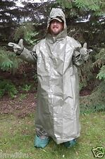Hazmat Suit Military Chemical Nuclear Fallout Hurricane Disaster Emergency SHTF