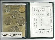 // Cartera pruebas numismaticas 1980 *80 Flor cuño F.N.M.T Futbol\