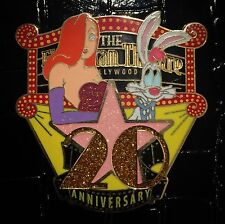 LE 300 Jessica Roger Rabbit El Capitan 20th Anniversary Disney DSF DSSH Pin