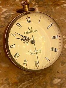 Kugeluhr Omega Uhr alt antik