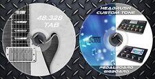 2.350 RIg´s HEADRUSH PEDALBOARD & GIGBOARD And 2.400 IR´s & 48.328 Guitar Tab