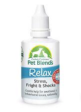 Natural Pet remedio calma miedo ansiedad trauma estrés Perro Gato Caballo relajarse mezcla Nuevo