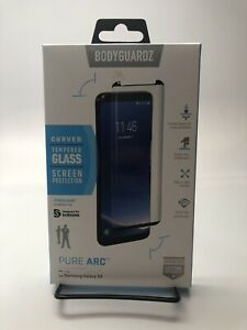 BodyGuardz - Pure2 Pure 2 Glass Screen Protector for Samsung Galaxy S8 Active