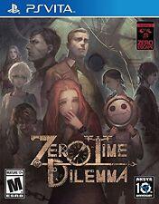 Zero Escape Zero Time Dilemma PS VITA GAME BRAND NEW SEALED