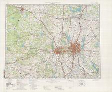 Russian Soviet Military Topographic Maps - DALLAS (USA),1:500 000, REPRINT