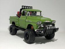 1958 CHEVY APACHE 1:24 Scale model car toy diecast 4x4 ute four wheel drive