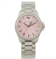 JUICY COUTURE Women's Laguna Crystal Bezel Bracelet Watch 1901518 NEW $225