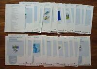 Bund Ersttagsblätter 2002 ETB Jahrgang komplett mit S + Inhaltsverzeichnis BRD