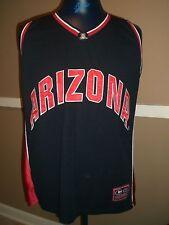 Arizona Wildcats Basketball Men's Sz Xl Blue Colosseum Jersey, Nice!