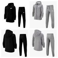 Nike Boys Tracksuit Kids Sportswear Full Zip Tracksuits Junior Bottoms Sports