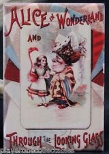 "Alice in Wonderland & Through the Looking Glass 2"" X 3"" Fridge Magnet."