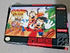 SNES Goof Troop Super Nintendo Entertainment System