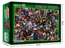 Jigsaw Puzzle 1000 Piece Horror Movies Learning Education Toy Game for Adults