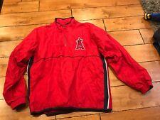2000 California Angels MAJESTIC Game-Worn Jacket XL RARE VINTAGE