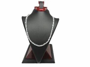 1 Strand,Natural Herkimer Diamond Quartz Style Beads From Pakistan.Sparkly,Shiny
