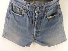 Vintage Denim Shorts casual cotton Blue size w29 Grade B M330