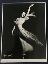 Maurice Seymour ca 1930 s Photograph of Ballerina Patricia Bowman inscribed