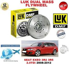FOR SEAT EXEO 3R2 ST 3R5 2.0 TDi 2008-2012 ORIGINAL LUK DMF DUAL MASS FLYWHEEL