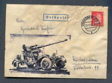 German Reich WW II : Great Feldpost cover from 1944 (2.12.1944)