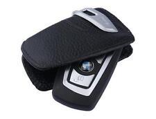 1X Genuine Leather High Quality Hardware BMW Key Case FOB Holder Wallets / set