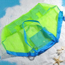 Mesh Beach Travel Storage Bag Children Kids Toy Organiser Bags Large Capacity