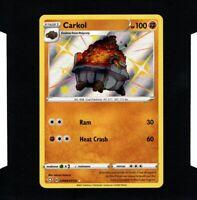 Shiny Carkol Shining Fates SV068/SV122 Rare Holo Pokemon NM/M Pack Fresh