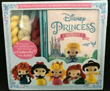 Nip Disney Princess Crochet Kit Make 12 Characters by Thunder Bay Books