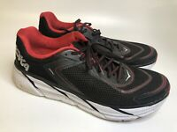 HOKA ONE ONE Men's Napali Running Shoes Black Red Size 13  *No Insoles