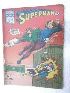 SUPERMAN/GREEN LANTERN  VOL 1 NO 22 DOLTON DC ENGLISH  Rare Comic India