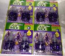 8 Air Wick Scented Oil Refills Relaxation Lavender & Chamomile 0.71 oz