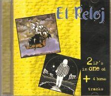 EL RELOJ -  I + II ARGENTINA 1975/76 PROGRESSIVE HEAVY ROCK CD + SINGLES TRACKS